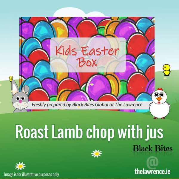 Easter - Roast Lamb Chop with jus - The Lawrence, Athboy