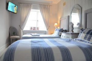 The Twin Room at The Lawrence, Athboy